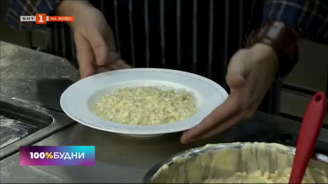 Бърза рецепта от шеф Виктор Жечев: макарони със сирена