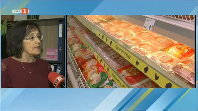 БАБХ спря 50 тона пилешко месо от Полша, заразено със салмонела