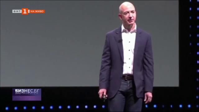 Профили: Джеф Безос - собственки на Amazon.com и на Blue Origin