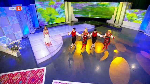 Певицата Радостина Паньова и нейните македонски напеви