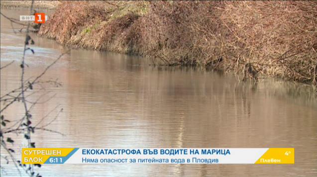 Няма опасност за питейната вода на Пловдив