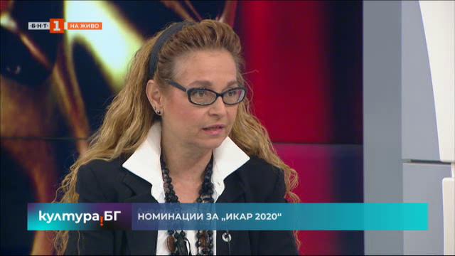 """Анелия Янева с коментар за номинациите за """"Икар"""" и театрални предложения"""