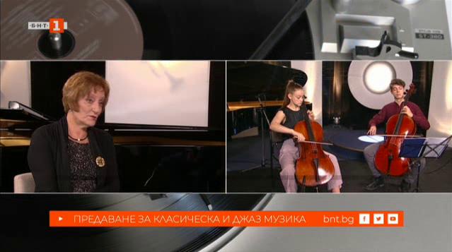 Даниела Черпокова и нейните ученици, за които музиката е чувство