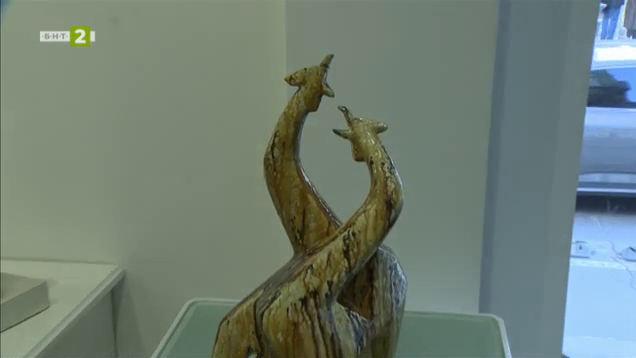 Керамични творби на проф. Георги Коларов в галерия Евдокиа Арт Глас