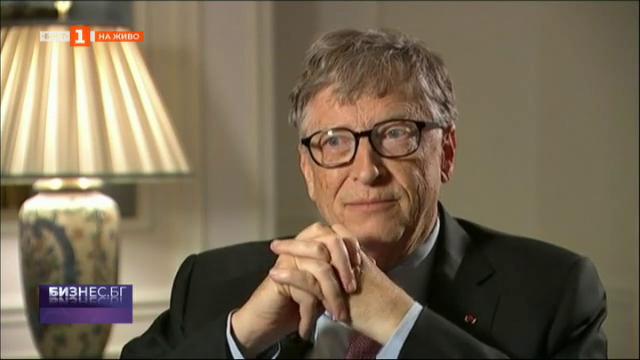 Животът и победите на Бил Гейтс