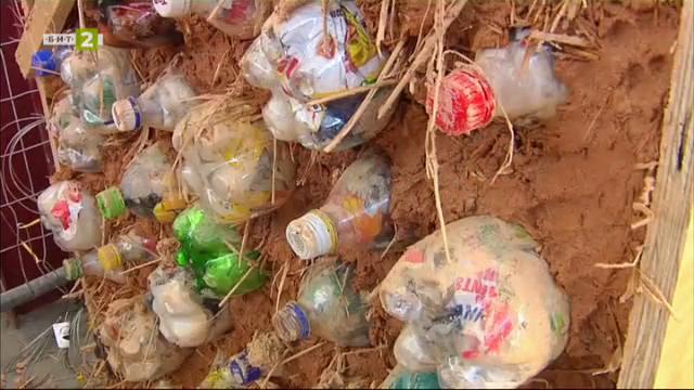 """ТЕХ АРТ"""": Екотухли от неразградими отпадъци са бъдещето в строителството"""