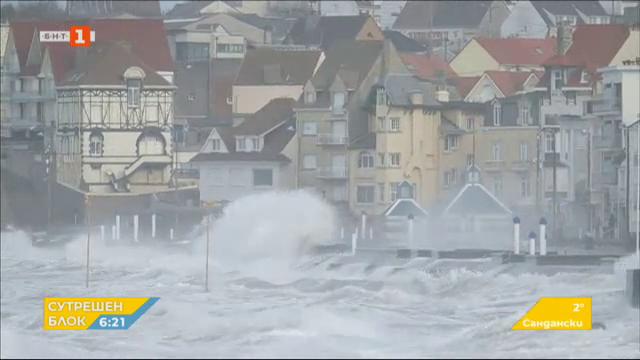 Бурята Киара продължава да нанася поражения