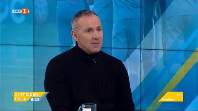 Каква ще е съдбата на ФК Левски - Илия Христов, председател на Сини сърца