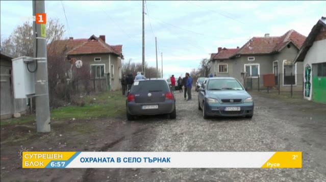 Патрулираща общинска охрана в Търнак