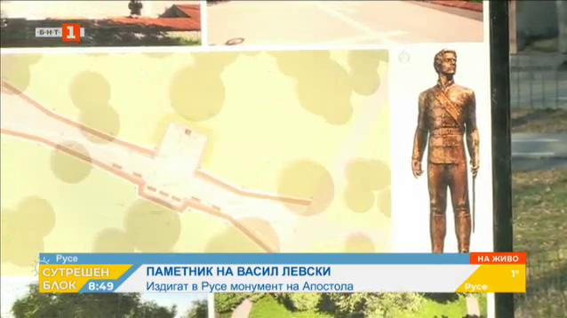 Започва изграждането на паметник на Левски в Русе