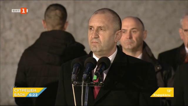 Тържествена заря-проверка се проведе в София