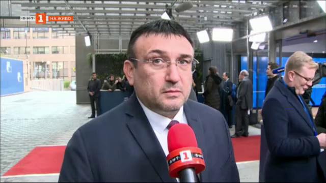 Младен Маринов ще предложи отпускане на средства за личния състав по границата