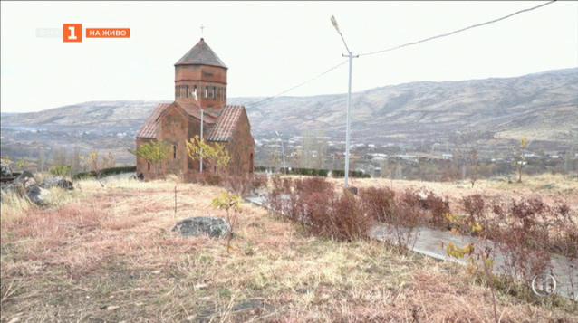 Първите монахини в Армения