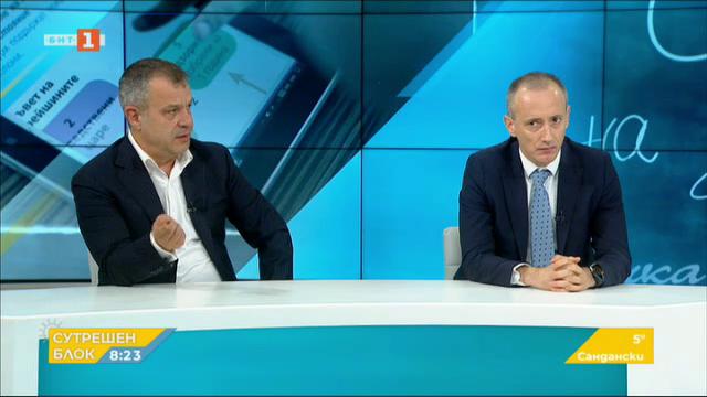 Стартът на С БНТ на училище е днес - гостуват Красимир Вълчев и Емил Кошлуков