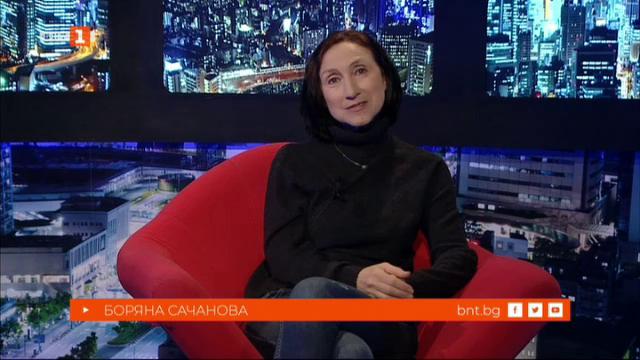 Боряна Сечанова и Симеон Владов в БНТ на 60