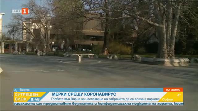 19 глоби за разходки в парка са наложени във Варна през почивните дни