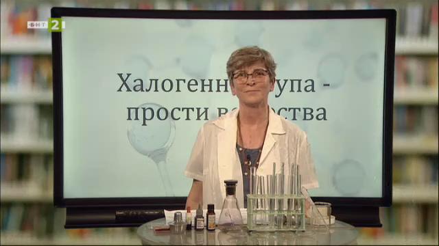 Химия и опазване на околната среда 7.клас: Халогенна група. Прости вещества
