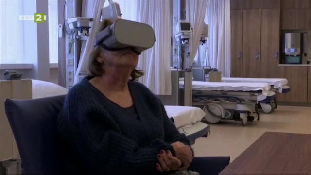Пациенти унищожават болката с виртуална реалност