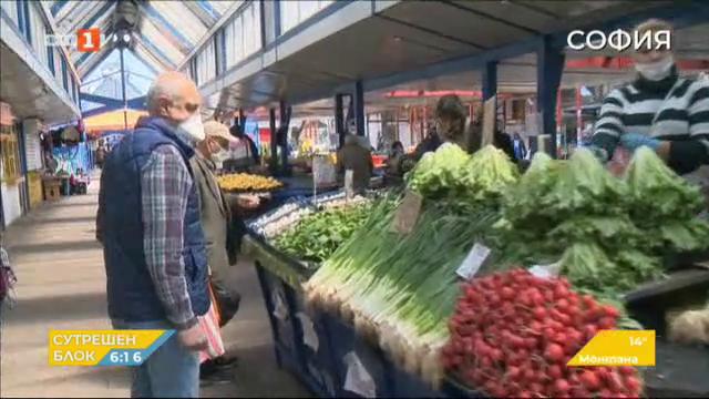 При спазване на мерките ще отворят пазарите след Великден