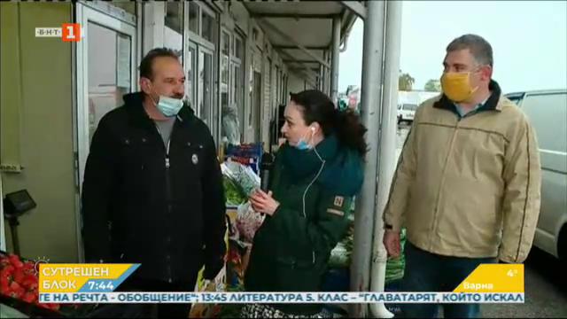 Борсата за плодове и зеленчуци в Първенец няма да затваря