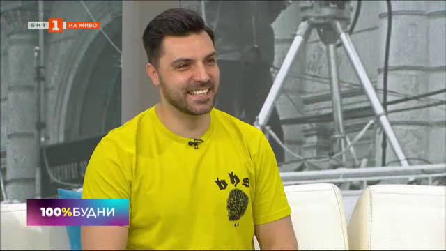 Водещият Ники Дограмаджиев от Добър ден с БНТ2 на гости в БНТ1