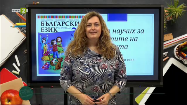 Български език 3. клас: Части на речта - преговор