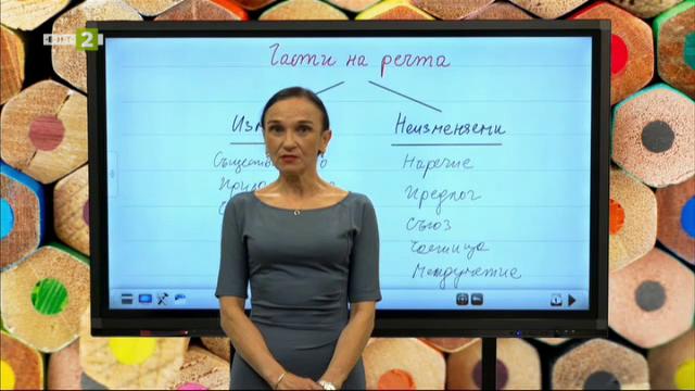 Български език и литератера 5. клас: Главни части в простото изречение