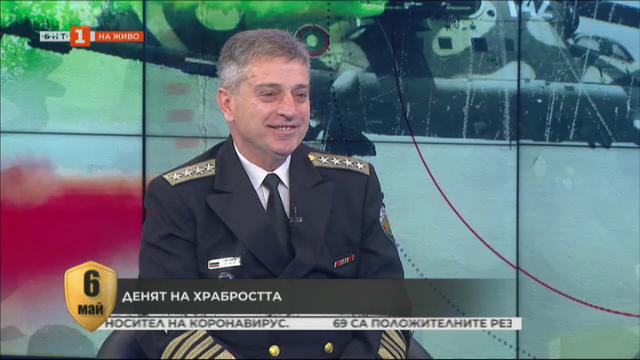 Адмирал Емил Ефтимов: Армията провежда регулярно своята бойна подготовка