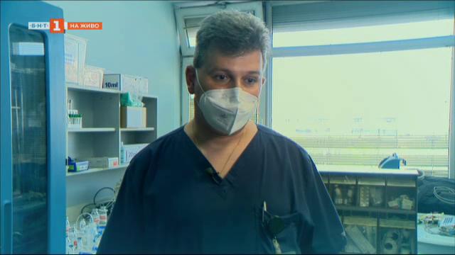 Военен лекар на първа линия