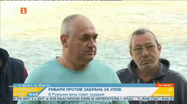 Рибари против забраната за улов на дунавска скумрия