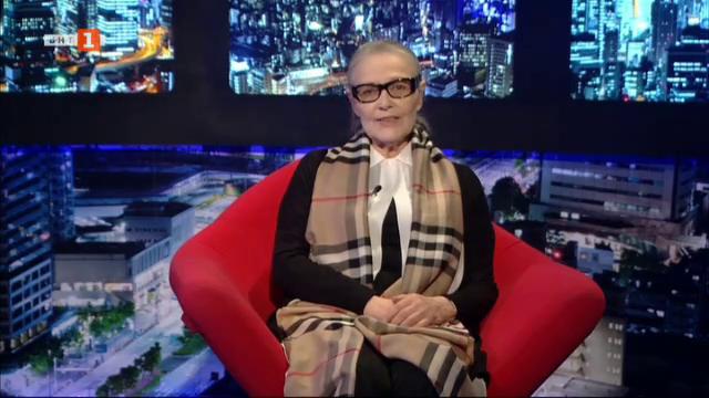 Цветана Манева в БНТ на 60