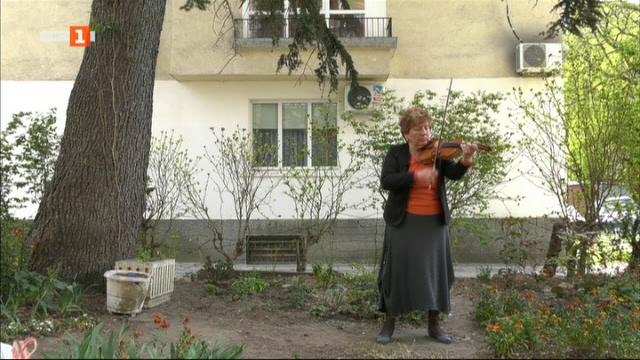 Историята на цигуларката Грета Бурова