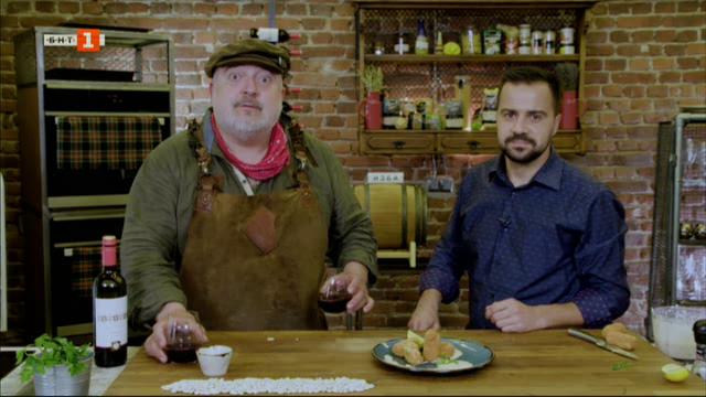 Червена португалска супа с фасул и крокети от бял боб с млечен сос