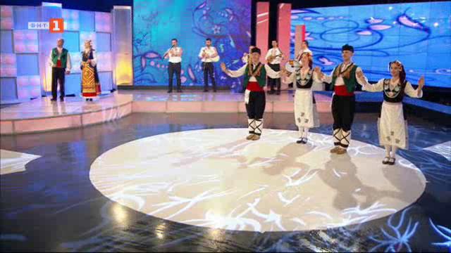 Среща с младите странджански певци Лазар Налбантов и Ирена Станкова