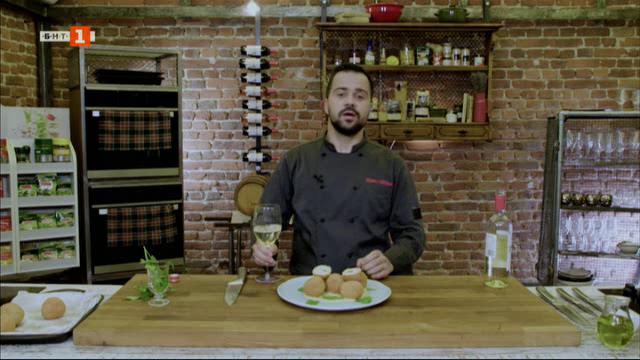 Кюфтета от риба по стара българска рецепта, лек чийзкейк с босилек и ягоди