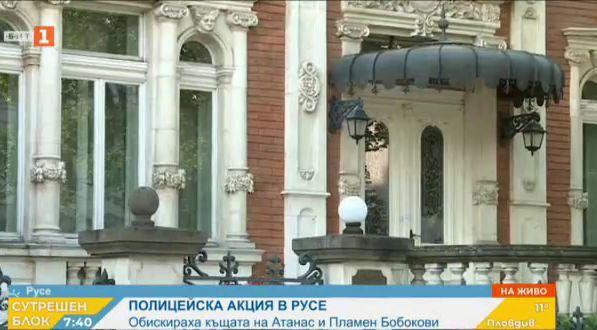 Полицейска акция в Русе