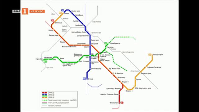 Стоян Братоев: През август пускаме първия участък от третия лъч на метрото