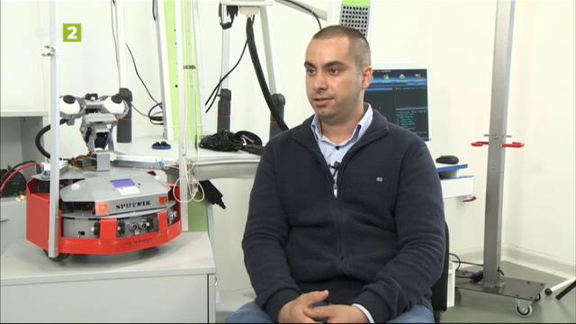 Българи създадоха дезинфекциращ робот с UV светлина