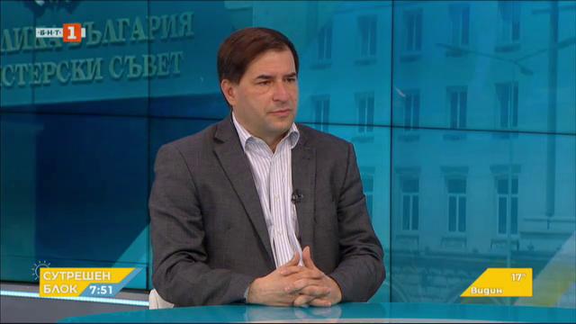 Борислав Цеков: На политическия терен има повишена острастеност