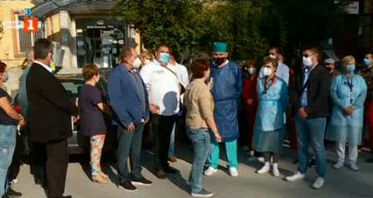 Медицинският персонал на болницата във Велинград подава колективна оставка