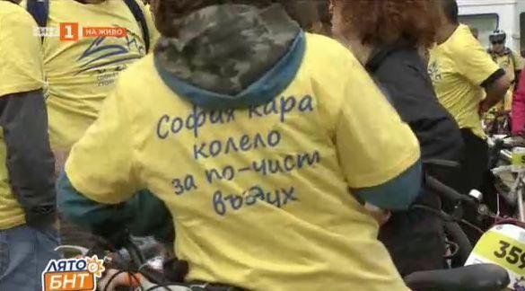 София кара колело и тича за по-чист въздух 2020