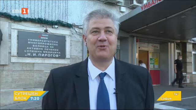 Проф. Асен Балтов: 29 са приетитите пациенти с Covid-19 в Пирогов