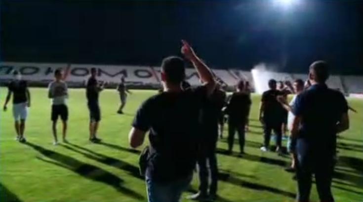 Пловдив празнува след вчерашната победа на Локомотив