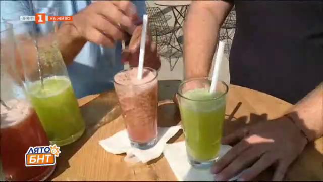 Разхлаждащи коктейли за летните горещини