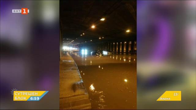 Наводнена София - снимки от социалните мрежи