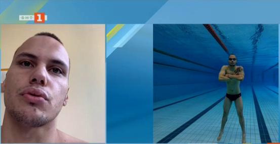 Антъни Иванов: Няма да приключа с плуването заради температура за един ден