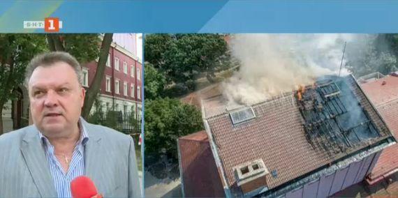 След пожара в Държавна опера - Русе - какви са щетите