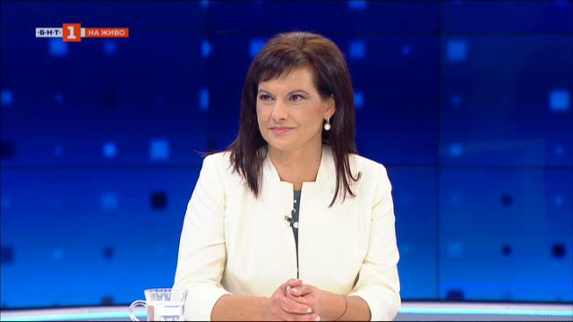 Дариткова: Изказването на президента за НСО отново е бягство от отговорност