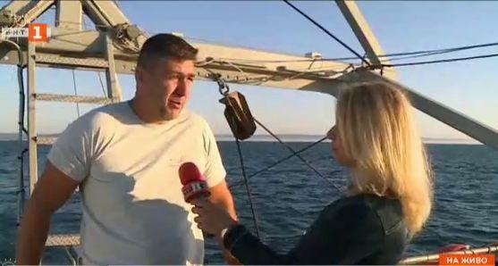 На борда на варненски риболовен кораб