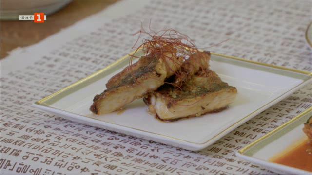 Вкусът на Република Корея: Скумрия с кимчи и скумрия със соев сос